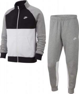 Костюм мужской Sportswear, размер 44-46 Nike. Цвет: серый