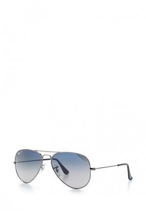 Очки солнцезащитные Ray-Ban® 0RB3025 004/78. Цвет: серебряный