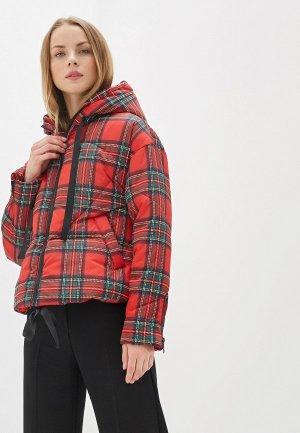 Куртка утепленная Keddo. Цвет: красный