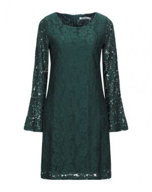 Короткое платье DRY LAKE.. Цвет: темно-зеленый