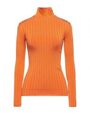 Водолазки NINA RICCI. Цвет: оранжевый