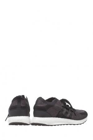 Кроссовки EQT Support Ultra Primeknit Adidas. Цвет: черно-белый