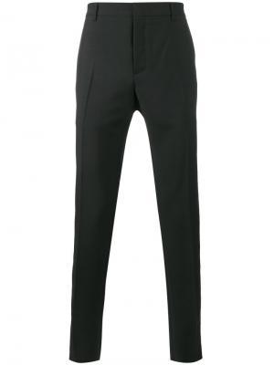 Классические брюки с полосками по бокам Valentino. Цвет: чёрный