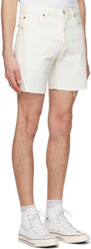 Levis White 501 93 Cut-Off Shorts Levi's. Цвет: mortadella