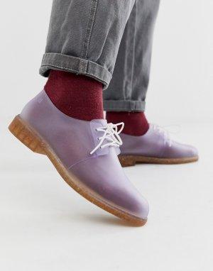 Прозрачные туфли со шнуровкой -Очистить Melissa