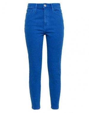 Джинсовые брюки CURRENT/ELLIOTT. Цвет: ярко-синий