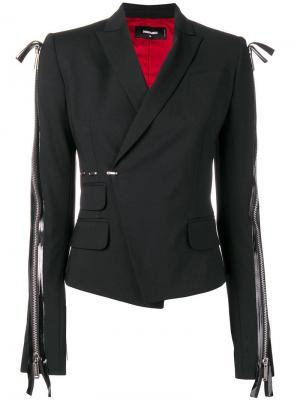 Куртка с рукавами молниями Dsquared2