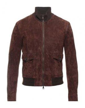 Куртка ROŸ ROGER'S. Цвет: коричневый