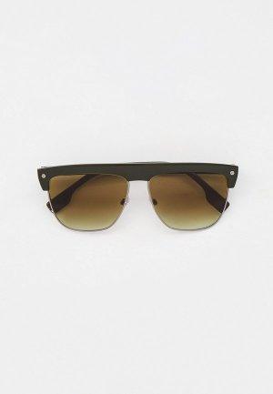 Очки солнцезащитные Burberry BE4325 33738E. Цвет: зеленый