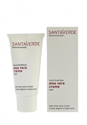 Крем для лица Santaverde легкий Aloe Vera Basic нормальной и жирной кожи