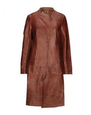 Легкое пальто FREAKY NATION. Цвет: коричневый