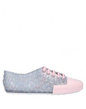 Низкие кеды и кроссовки MELISSA. Цвет: розовый