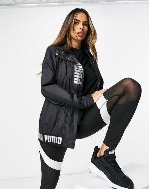Черная ветровка Training-Черный Puma