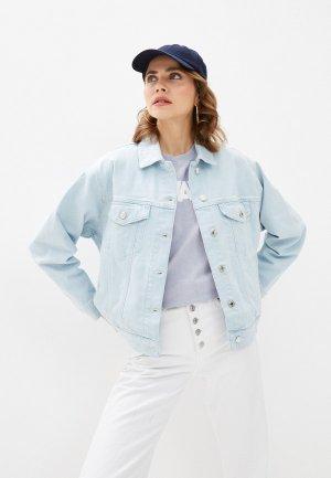 Куртка джинсовая Mavi ALEXIA. Цвет: голубой