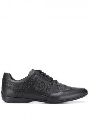 Туфли в спортивном стиле Baldinini. Цвет: черный