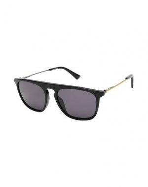 Солнечные очки DIESEL. Цвет: черный