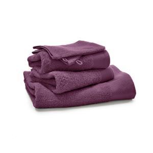 Комплект из 5 однотонных банных принадлежностей махровой ткани, 500 г/м², SCENARIO LA REDOUTE INTERIEURS. Цвет: белый,бирюзовый,бледно-зеленый,голубой бирюзовый,желтый шафран,зеленый  атолл,красный карминный,пепельно-серый,серо-бежевый,сине-зеленый,синий,темно-серый,фиолетовый,черный