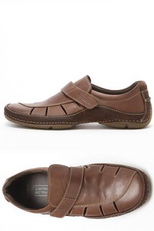 Туфли Camel Active. Цвет: коричневый