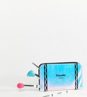 Набор кистей для макияжа в футляре -Бесцветный Crayola