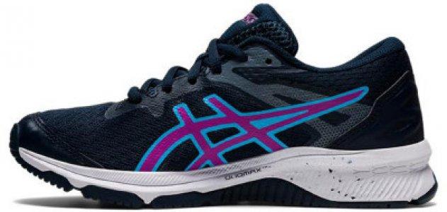 Кроссовки для девочек Gt-1000 10 GS, размер 36.5 ASICS. Цвет: синий