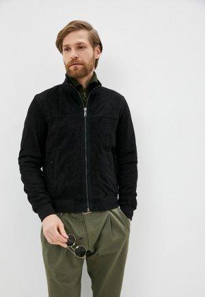 Куртка кожаная Jorg Weber IPR051S7. Цвет: черный