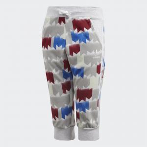 Бриджи GRPHC AOP Originals adidas. Цвет: белый