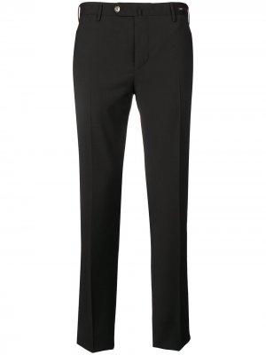 Классические брюки кроя слим Pt01. Цвет: черный