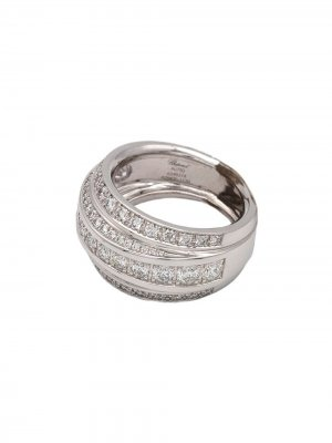 Кольцо La Strada из белого золота с бриллиантами Chopard Pre-Owned. Цвет: серебристый