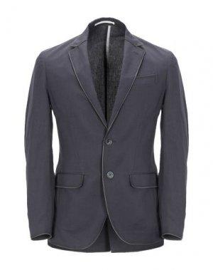 Пиджак MAISON LVCHINO. Цвет: грифельно-синий