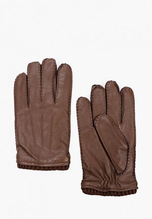 Перчатки Mango Man P SPORT. Цвет: коричневый