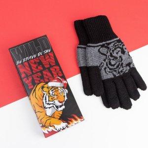 Мужские перчатки в подарочной коробке KAFTAN