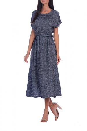 Платье DEJA FASHION. Цвет: принт