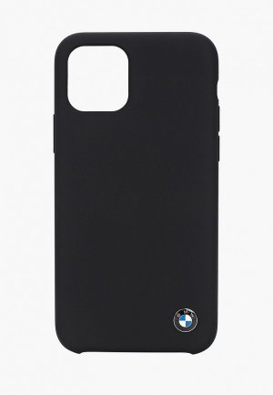 Чехол для iPhone BMW 11 Pro, Signature Liquid silicone Black. Цвет: черный