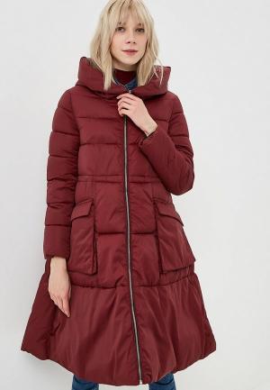 Куртка утепленная Rossa. Цвет: бордовый