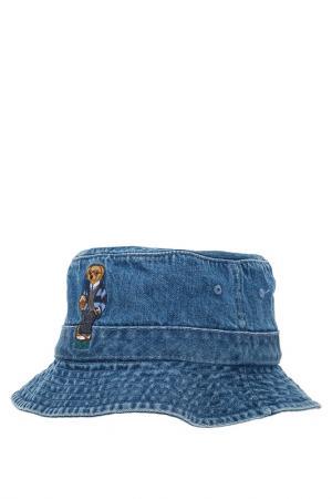 Панама Polo Ralph Lauren. Цвет: синий