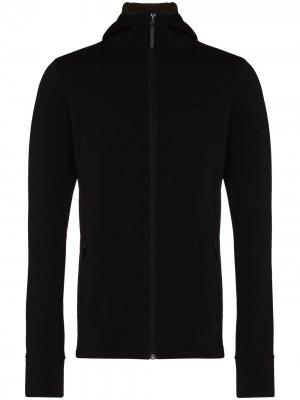 Куртка Power Stretch Pro Glacier с капюшоном Helly Hansen. Цвет: черный