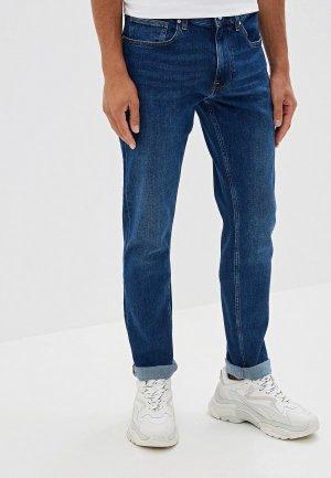 Джинсы Calvin Klein SLIM COMFORT FIT. Цвет: синий
