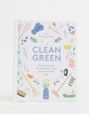 Книга Clean Green-Многоцветный Allsorted