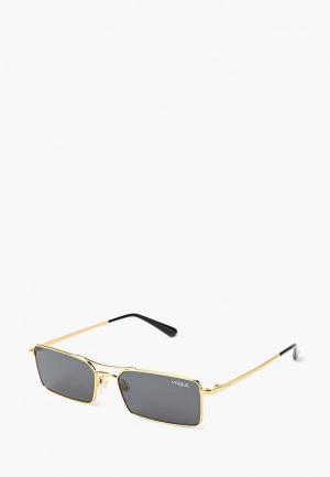 Очки солнцезащитные Vogue® Eyewear VO4106S 280/87. Цвет: золотой