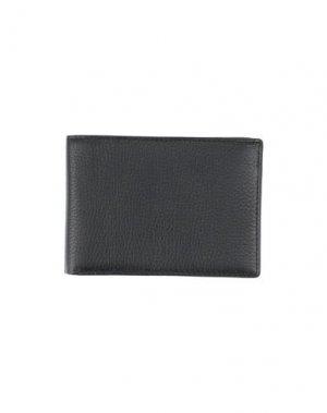 Бумажник L. PETERSON. Цвет: темно-синий