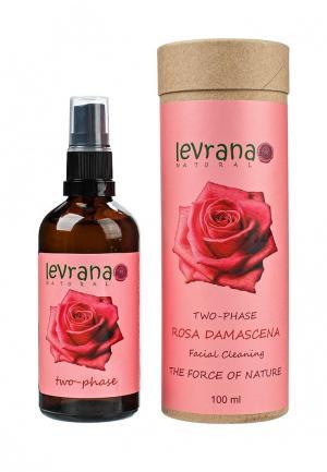 Средство для снятия макияжа Levrana Роза, двухфазное , 100 мл. Цвет: прозрачный