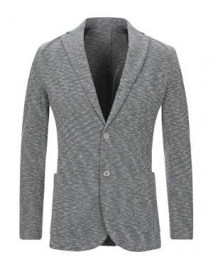 Пиджак HAMAKI-HO. Цвет: свинцово-серый