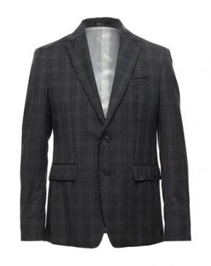 Пиджак MAURO GRIFONI. Цвет: свинцово-серый