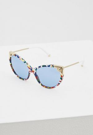 Очки солнцезащитные Dolce&Gabbana DG4337 318172. Цвет: синий