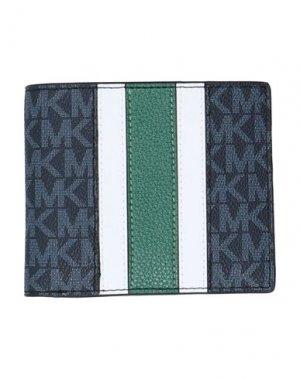 Бумажник MICHAEL KORS MENS. Цвет: темно-синий