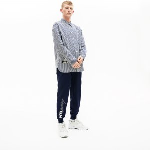 Спортивные штаны L!VE Lacoste. Цвет: синий