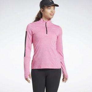 Олимпийка Running Essentials Reebok. Цвет: posh pink