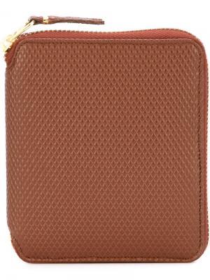 Кошелек Luxury Group Comme Des Garçons Wallet. Цвет: коричневый