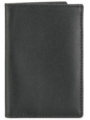 Классический бумажник Comme Des Garçons Wallet. Цвет: черный