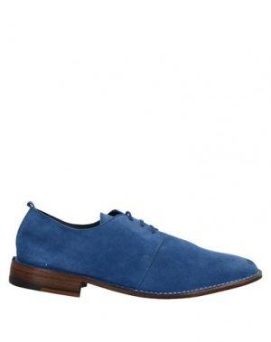Обувь на шнурках CALPIERRE. Цвет: ярко-синий